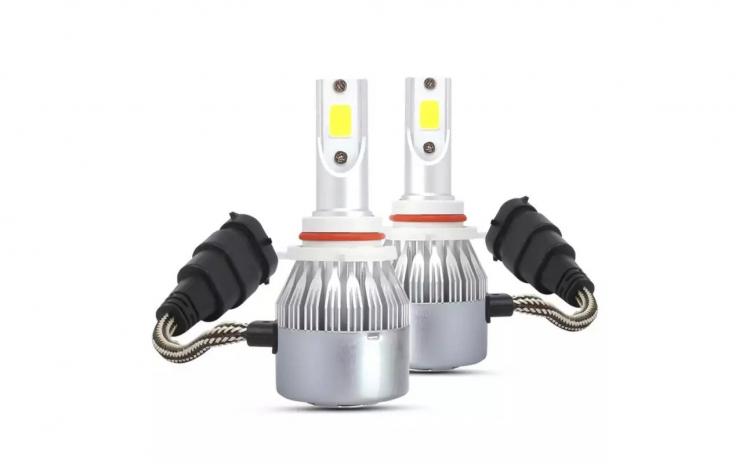 Set 2 leduri 12-24v compatibil hb3(9005)