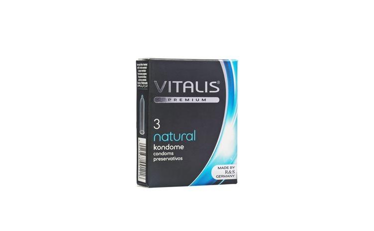 Prezervativ Vitalis Premium Natural, 3