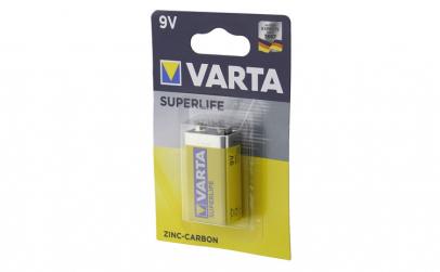 Baterie 9V, 6F22, zinc-carbon,