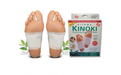 Set 40 plasturi detoxifiere Kinoki
