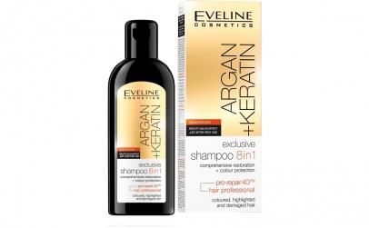 Sampon de par, Eveline Cosmetics, 8 in 1