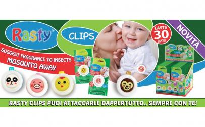 Clips anti-tantari bebelusi ulei Neem