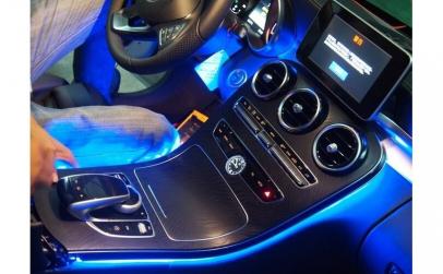 Kit lumina ambientala Mercedes Benz