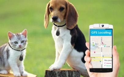 Breloc anti-pierdere GPS cu Bluetooth