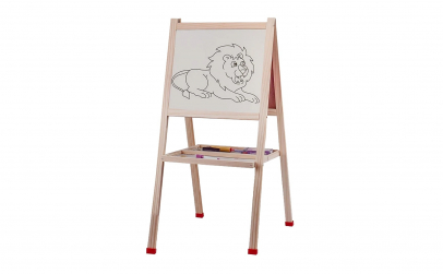 Tabla educativa din lemn 80 x 40 cm