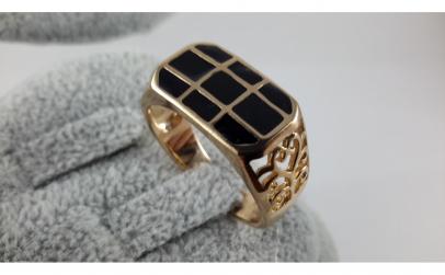 Inel unisex Luxury Onix