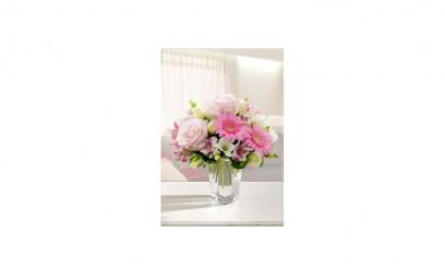 Buchet roz pentru fetita