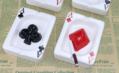 Set 2 scrumiere ceramica