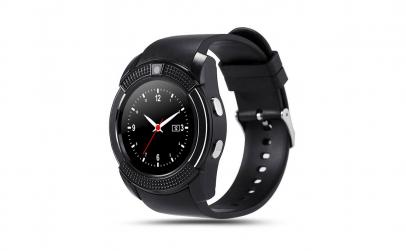 Smartwatch cu cadran rotund