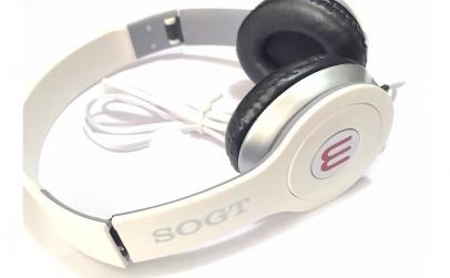 Casti audio pliabile cu fir detasabil