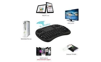 Mini tastatura Bluetooth cu touchpad