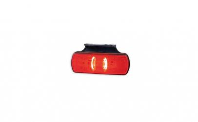 Lampa de gabarit LED rosie cu suport