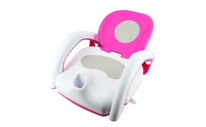 Scaunel de baie pentru copii Pink
