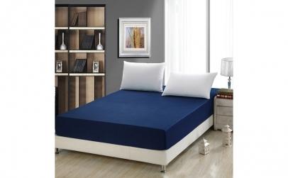 Set 2 x husa de pat cu elastic