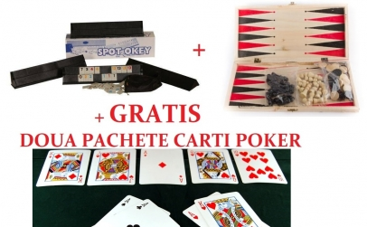 Rummy + Table + Carti poker