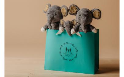 Jucarie crosetata, Elefantelul Cici