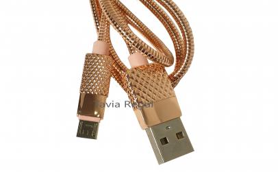 Cablu rapid de incarcare metalic