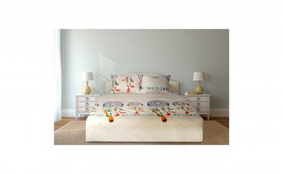 Lenjerie de pat, model Tetris