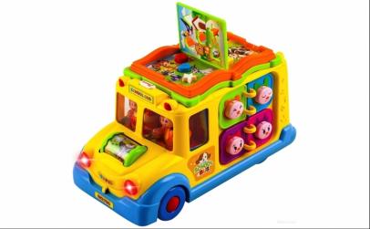 Jucarie activitati - Autobuzul Scolar