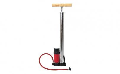 Pompa aer manuala cu manometru, 4cars