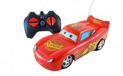Masinuta Fulger McQueen cu telecomanda