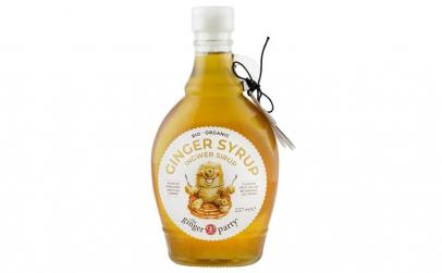 The ginger party - Sirop Bio de ghimbir,
