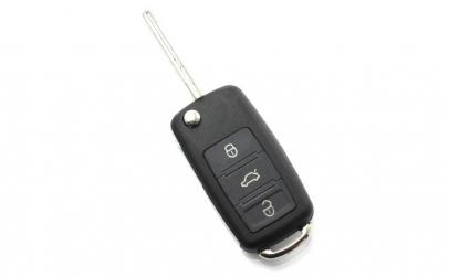 Audi A8 - Carcasa cheie tip briceag, 3