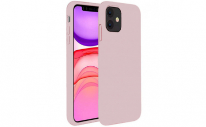 Husa iPhone 11 2019 Roz Silicon Slim