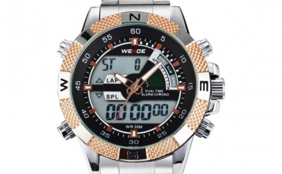 Ceas Weide WH1104 - silver/ gold