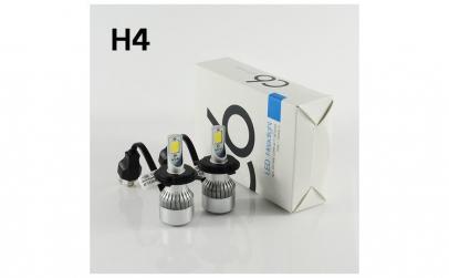 Kit 2 led-uri auto H4 C6, 48 W, 6000K