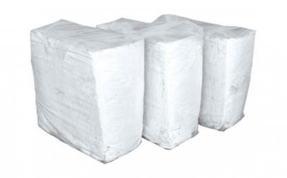 Laveta bumbac alb 10kg comprimant