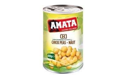 Naut boabe AMATA Conserva 400 gr