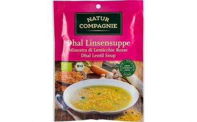 Supa crema Bio de linte, 60 g NATUR