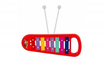 Xilofon rosu+2 bete, Instrument muzical