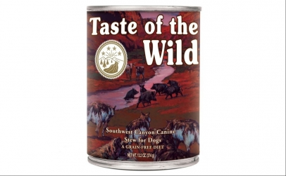 Conserva-Taste Of The Wild Southw 390 gr