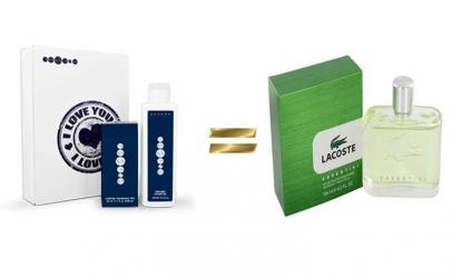 Set Apa de parfum marca alba,  Gel de