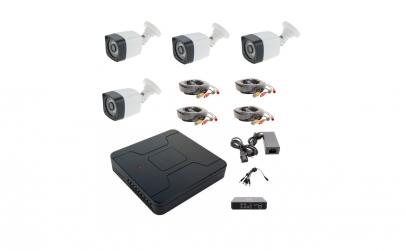 Kit sistem supraveghere complet 4 camere