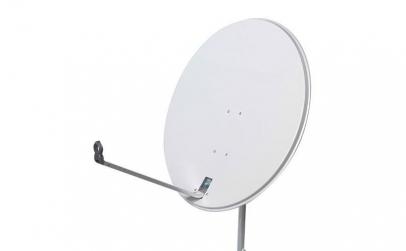 Antena satelit 80 cm cu lnb twin