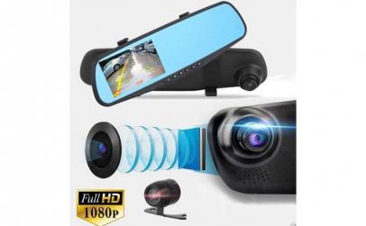 Oglinda retrovizoare tip camera video HD
