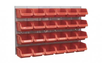 Recipient depozitare container cu panou