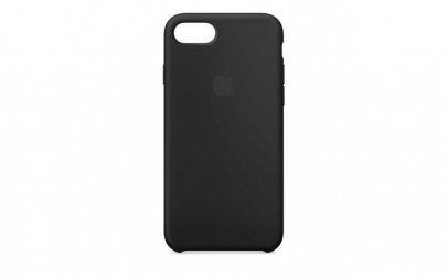 Husa iPhone 7   8 Negru Carcasa Silicon