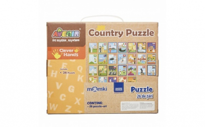 Puzzle  26 de tari