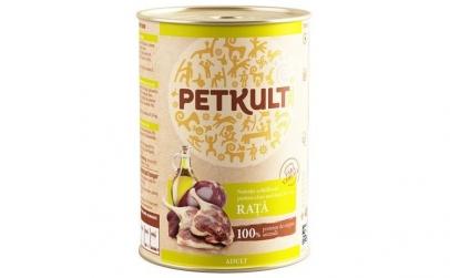 Conserva caini PetKult, Rata, 400 g