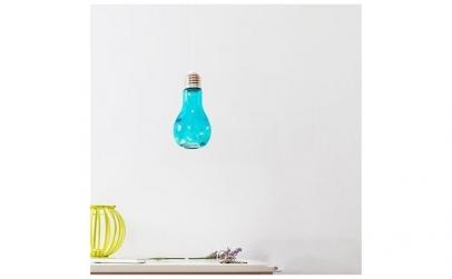 Veioza LED - bec Retro albastru