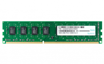 Memorie Apacer 8GB DDR3 1600MHz 1.35V