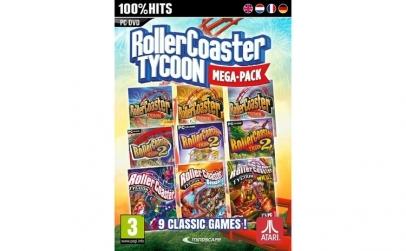 Joc Rollercoaster Tycoon (9 Megapack)