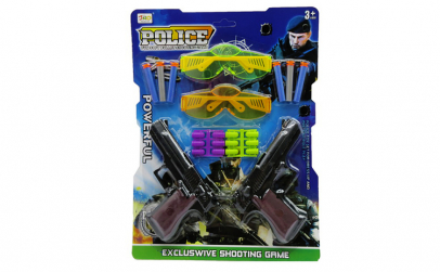 Set pistoale Police cu proiectil din