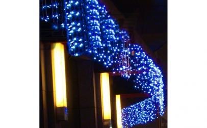 Instalatie LED Perdea Turturi 8x0.5m
