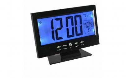 Ceas electronic cu afisaj temperatura