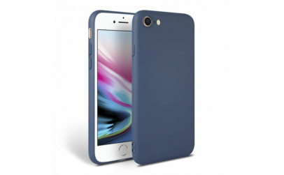 Husa iPhone 8 Bleumarin Silicon Slim